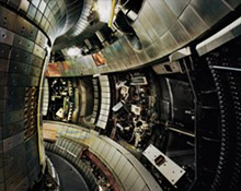 Thomas Struth, German, born 1954; Tokamak Asdex Upgrade Interior 2, Max Planck IPP, Garching 2009; chromogenic print; 55 3/4 x 59 1/4 inches © Thomas Struth