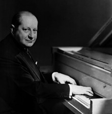 Composer Sigmund Romberg in 1949.