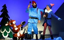 Rudolph, Yukon Cornelius and Hermey the Elf.