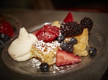 STEVE TRUESDELL - Piccione Pastry created this Italian French Toast for the 2016 United We Brunch; what will they have this year?