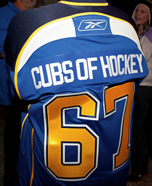 People of the 2013 St. Louis Blues Season Opener