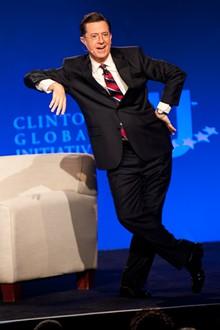 Stephen Colbert Interviews Bill Clinton