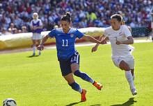 U.S. Women's National Soccer Team vs. New Zealand at Busch Stadium, April 4, 2015