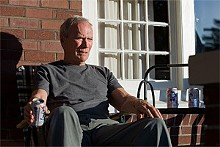 Clint Eastwood's character in Gran Turino enjoys some Pabst Blue Ribbon — and, no, not ironically, punk!