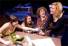 LISA MANDEL - Cara Barresi, Nicole Angeli, Ruth Heyman and Michelle Hand in The Last Seder.