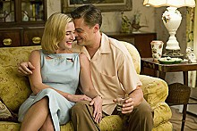 A lonely Road: Kate Winslet and Leonardo DiCaprio.