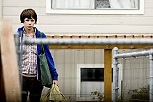 Two against nature: Michelle Williams stars in Wendy and Lucy.