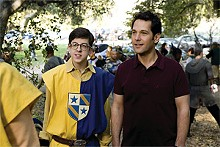 Christopher Mintz-Plasse and Paul Rudd are just grown-up enough in Role Models.