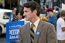 FOCUS FEATURES - Gay pride: Sean Penn stars as Harvey Milk.