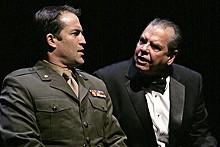 JERRY NAUNHEIM JR. - The Rep's Jeremy Holm as Jack Brennan and Keith Jochim as Richard Nixon.
