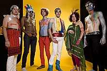 Of Montreal: They've raided the Village People's costume closet.