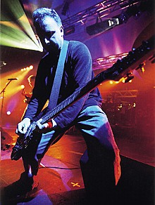 IAN JENNINGS/COURTESY OF WARNER BROS. RECORDS - Peter Hook: The bass is the place.