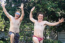 Everybody in the silly gene pool: Will Ferrell and John C. Reilly star in Step Brothers.