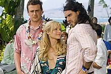 Jason Segel tries to move on in Forgetting Sarah Marshall.