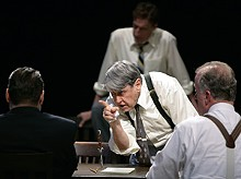 JERRY NAUNHEIM JR. - Dane Knell, as Juror 9, is one of the Rep's Twelve Angry Men.