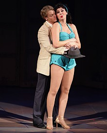 JERRY NAUNHEIM JR. - David Larsen and Jessica Leigh Brown in the Rep's Kiss Me, Kate.