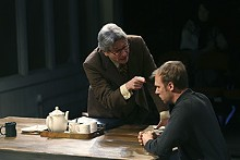 JERRY NAUNHEIM JR. - Anderson Matthews and Jim Butz scored high marks in 2007's A Number at the Rep.