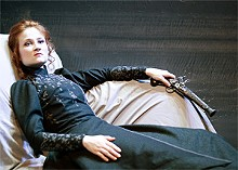 JOHN LAMB - Bringing excitement to boredom: Paris McCarthy is an excellent Hedda Gabler.