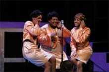 STEWART  GOLDSTEIN - A standing ovation in the middle of the play is show business as usual for Dreamgirls.