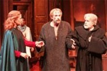 J. BRUCE SUMMERS - The play is the thing: (left to right) Susan Wands as Matilda, Andrew Long as Henry and John Thomas Waite as the Doctor.