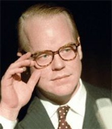 Philip Seymour Hoffman perfectly portrays the unraveling of a great American writer.