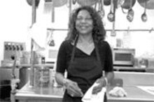 JENNIFER  SILVERBERG - Warm welcome: Marion cooks up some of the best barbecue (and desserts) you'll ever eat.