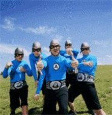 Aquabats: Who is that masked man?