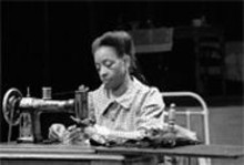 Well made: Linda Kennedy in the delightful Intimate Apparel