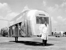 Airstream! An Architectural History of a Land - Yacht parks at the Sheldon through August 20.