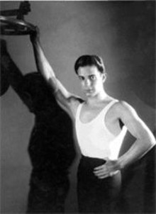 GEORGE  HURRELL - Ramon Navarro was too sexy to be contained in - these little pages -- see the larger, sexier version on - Friday.