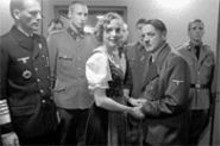 Humanizing Hitler? Bruno Ganz (right, with Juliane - Khler as Eva Braun) portrays Der Führer in this morally murky film.