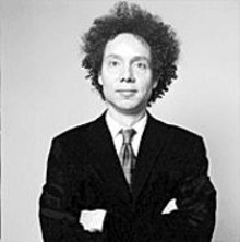 BROOKE  WILLIAMS - Staring contest with Malcolm Gladwell... go! - (First one to blink loses.)