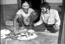It was twenty years ago today... Peace Corps - volunteer James Parks parties in Nepal.