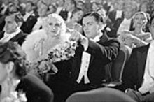 Leonardo DiCaprio (with Gwen Stefani, as Jean - Harlow) soars as mad genius Howard Hughes.