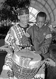 Beat the drum for Kwanzaa!
