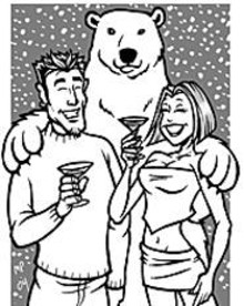 MARK  POUTENIS - We didn't get that white Christmas, but we can still - have a white New Year's Eve, courtesy of Velvet and - the White Ball.