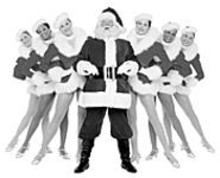 RADIO CITY ENTERTAINMENT - Santa has greatly upgraded in the reindeer department - this year.
