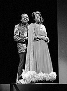 Drummond Crenshaw and Coco Soul in Tell Me - Somethin' Good, through December 19 at the Grandel Theatre.