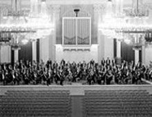 Look how sad the St. Petersburg Philharmonic - Orchestra is playing to an empty house. You better - show up on Friday so they're not so glum.