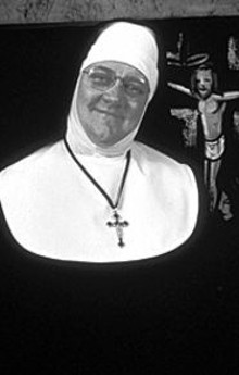 Nun sense: Maripat Donovan, co-creator of Late - Night Catechism