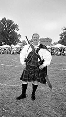 "As the Scots are wont to say, ""A man in a kilt is a - man-and-a-half."""