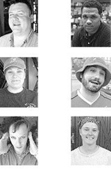 "Dave ""Fatty"" Nelson, Gina Huntoon and Tory Z - Starbuck  - Jared Chestnut, Don Woods and Trish ""Spud"" - Nijkamp"