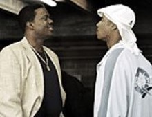 The old man and the rookie: Bernie Mac (left) and Brian White