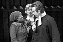 J. BRUCE SUMMERS - Chandra Thomas, Anderson Matthews  and Tim - Altmeyer in the Rep's Crucible.