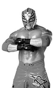 Masked intentions: Rey Mysterio goes sans disguise in Chula Vista.