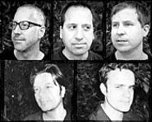 Our Waterloo: (clockwise from top left) Marc Chechik, - John Baldus, Dave Melson, Mark Ray, Chris Grabau.