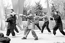 World Tai Chi Day: It's like Kill Bill in slow - motion.