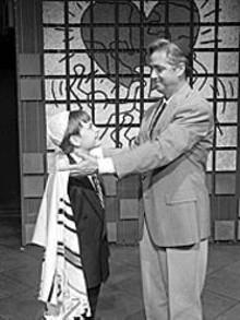 Alex Prakken (left) and Bill Lynch in the New Jewish - Theatre's Falsettos.