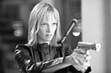 Here comes the Bride: Uma Thurman seeks (more) - revenge in the second Kill Bill.