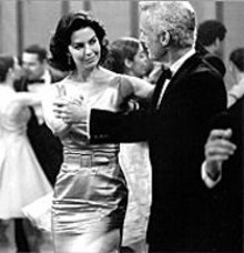 BARRY  WETCHER - Sela Ward (left) and John Slattery get down in - Dirty.
